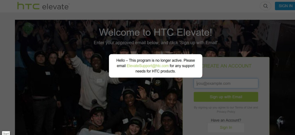 HTC pulls the plug on its Elevate superfan community site - For HTC's biggest fans, things just got worse