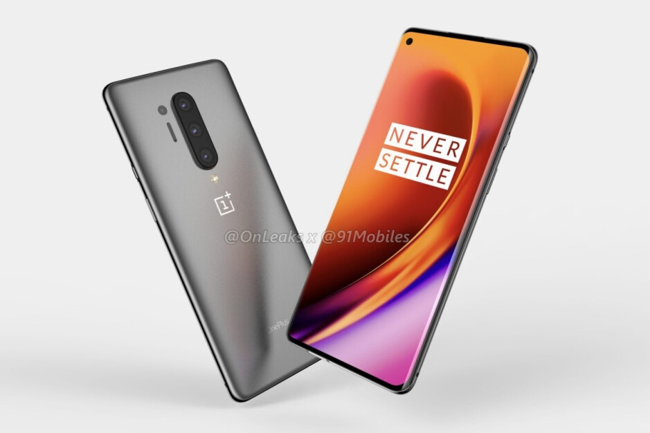 Leaked OnePlus 8 Pro renders - The best thing about the OnePlus 8 display is now essentially official