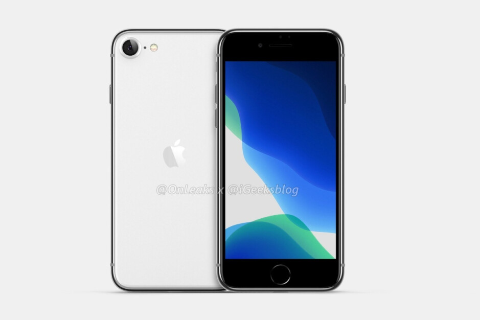 Leaked render of the 4.7-inch iPhone 9 - Yet another iPhone 9 variant might be in the works, this one with Face ID