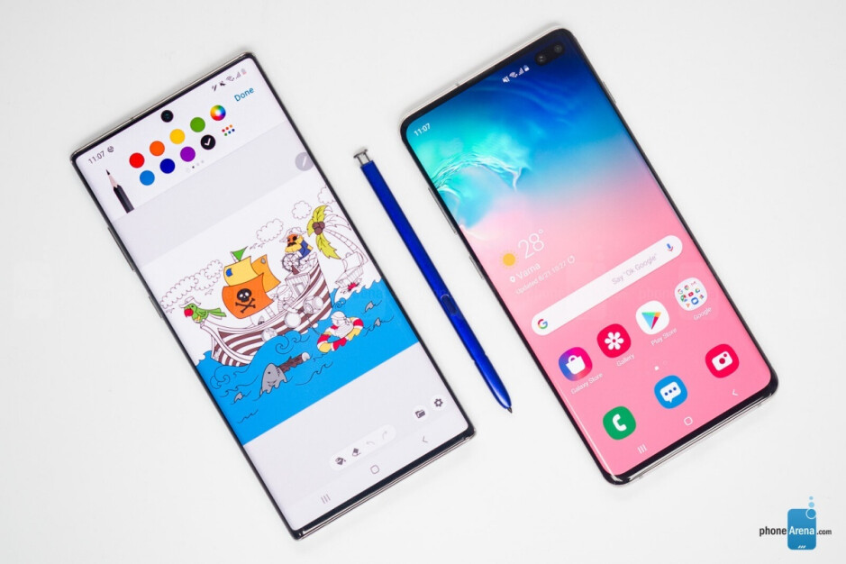 Galaxy Note 10+ (left), Galaxy S10+ (right) - You can once again save big on Galaxy Note 10 and S10-series devices at Samsung