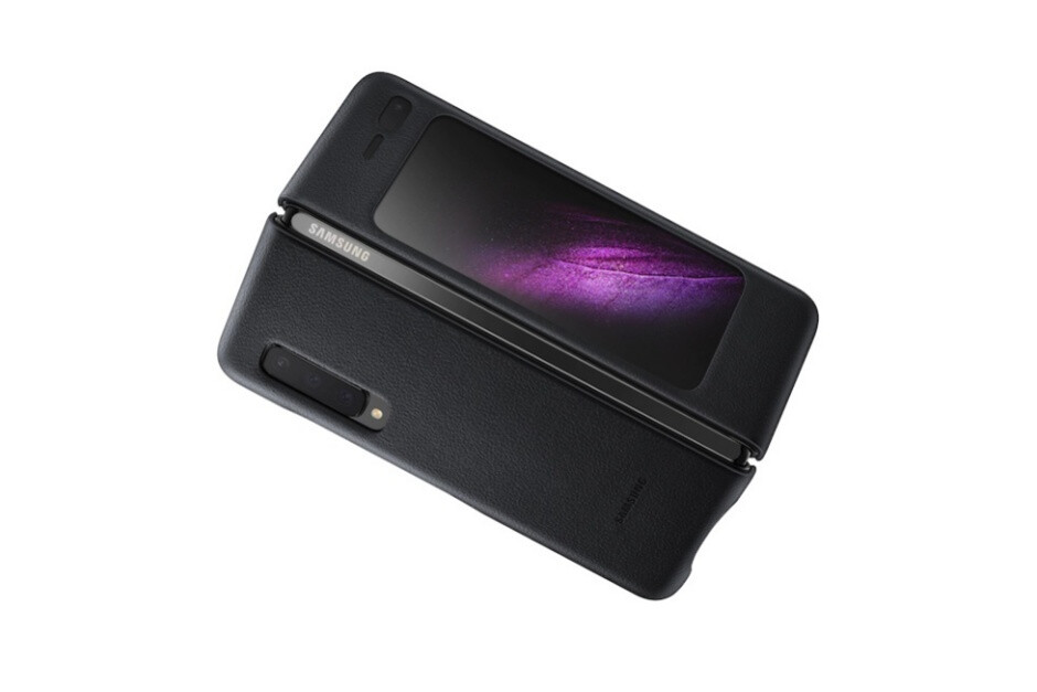 Official Galaxy Fold leather cover - There will be only one official Samsung Galaxy Z Flip case in two colors