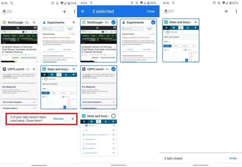 Google will remind you when your Chrome tabs get stale - Google tests useful feature for Chrome browser app