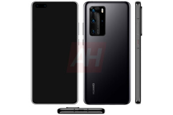 Render of the upcoming Huawei P40 Pro - Huawei's founder expects the U.S. to dial up its attack on the company