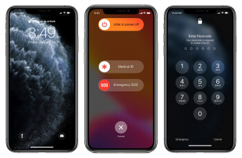 1. Squeeze the power button and one of the volume keys for a few seconds. 2. The Power Off/SOS screen appears. 3. Even if you hit cancel, Face ID is temporarily disabled and you need to manually input your passcode to unlock your iPhone - How to quickly disable Face ID and force iPhone to require passcode