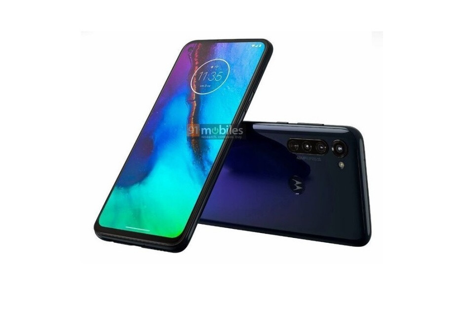 Leaked render of Motorola's unnamed phone with a built-in stylus - Big-battery Moto G8 Power and mystery Motorola phone with stylus get some newly leaked renders