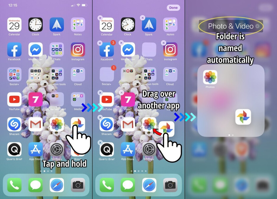 How to create, rename, and delete folders on an iPhone or iPad