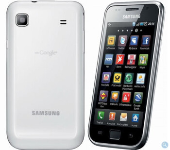 Samsung Galaxy S drenched in white is now available in Germany
