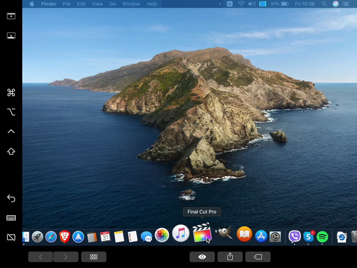On the iPad - How to use your iPad as a second display for your MacBook, iMac: Catalina SideCar iPad Pro tutorial