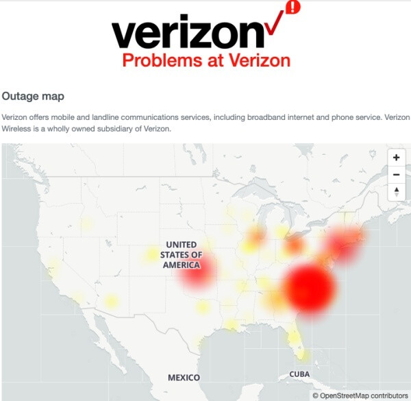 Major outage hits all big four US carriers (and a few smaller ones)