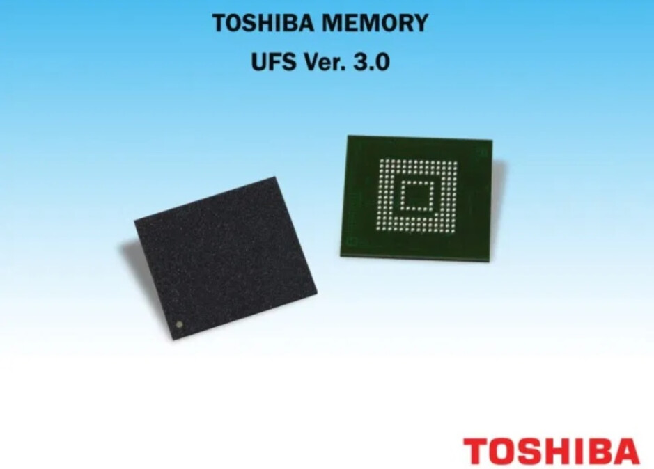Toshiba's UFS 3.0 chip - New announcement could mean faster performance for Galaxy S20 series and OnePlus 8 line