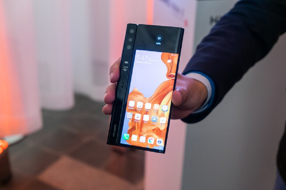 The foldable Huawei Mate X - Patent application reveals how Huawei will copy Samsung with the Mate X2