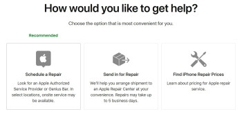 Repair options for the iPhone now mention that limited onsite repairs could be available in your area - In some markets you can have Apple arrange a house call to fix your iPhone screen