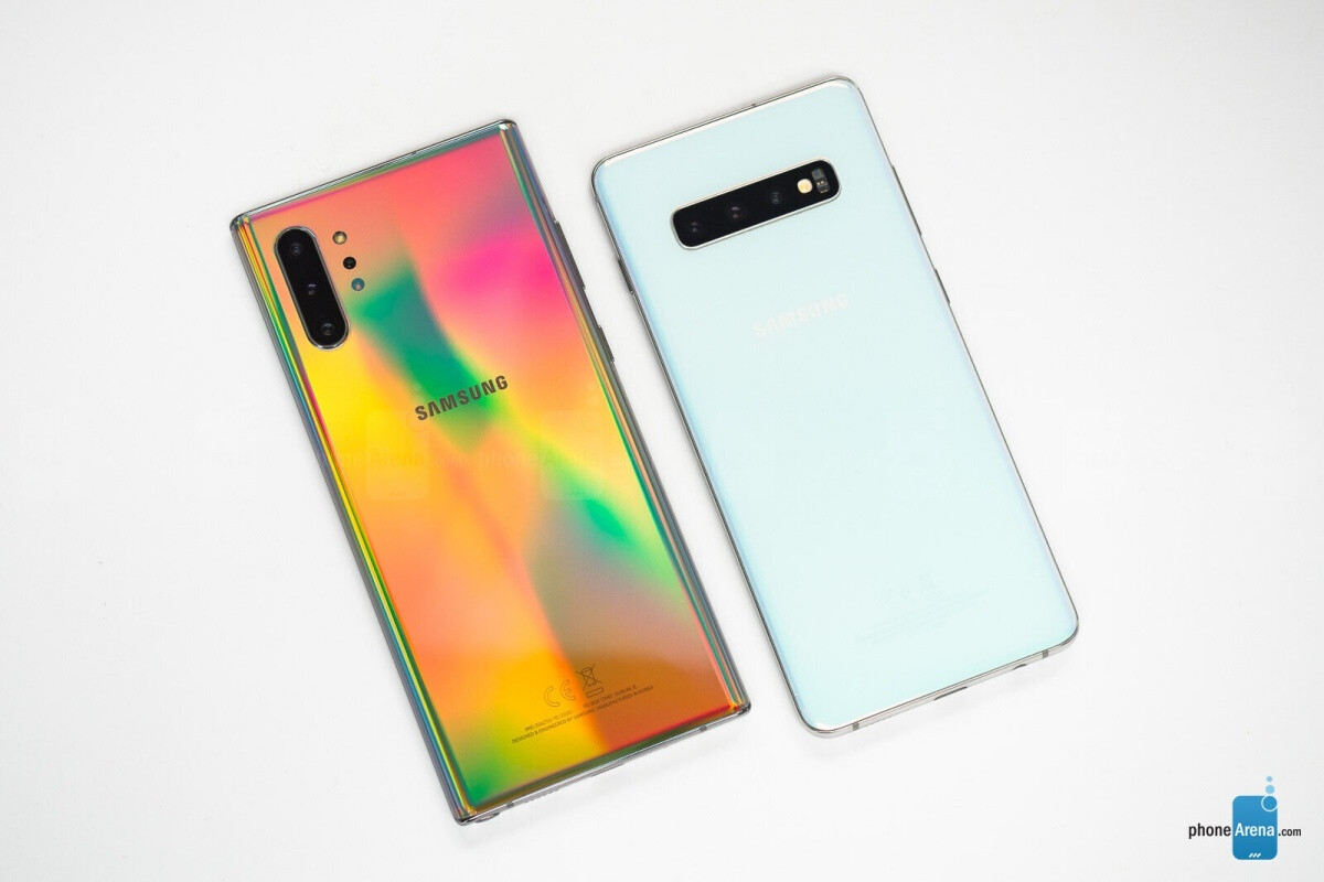 Galaxy Note 10+ (left), Galaxy S10+ (right) - Samsung kicks off a fresh batch of killer Galaxy Note 10 and S10-series deals