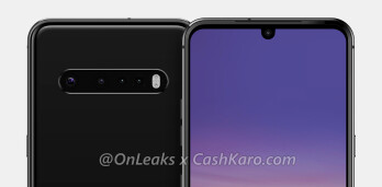 Render of the LG V60 ThinQ - LG V60 ThinQ will have a popular feature not found on the Galaxy S20 line