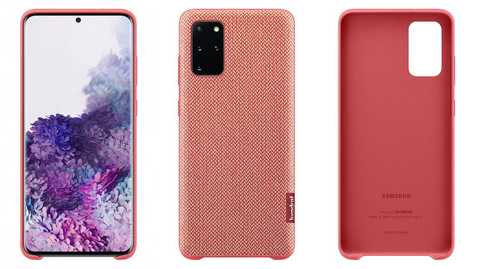 Oh, the S20+ gets to have an exclusive Danish Kvadrat case made of recycled PET bottles - Galaxy S20 vs Plus vs S20 Ultra specs, camera and price comparison