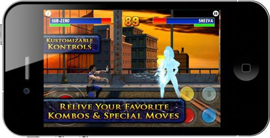 Mortal Kombat 3 comes to Apple iPhone