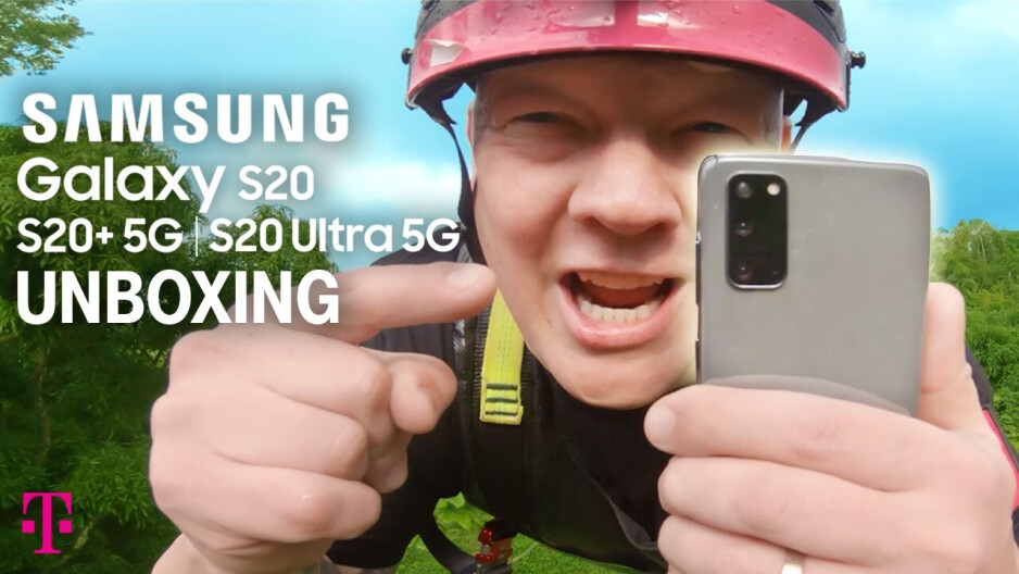 Galaxy S20 series got the obligatory T-Mobile unbox treatment - Samsung Galaxy S20 and Ultra 5G preorder deals at Verizon, Amazon, T-Mobile, Best Buy, or AT&T