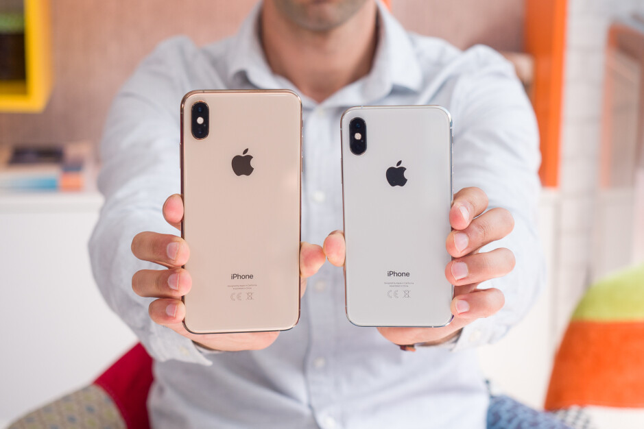 iPhone XS Max (left), iPhone XS (right) - Apple iPhone history: the evolution of the smartphone that started it all