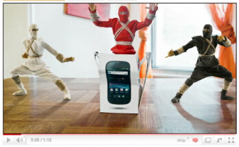 Google Nexus S Ninja unboxing