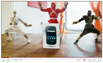 Google Nexus S Ninja unboxing