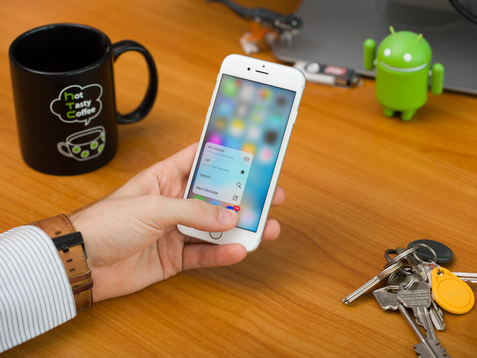 iPhone 6s with its new 3D Touch system - Apple iPhone history: the evolution of the smartphone that started it all