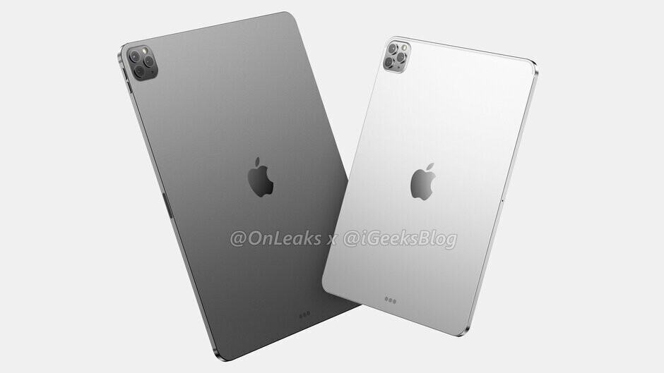Renders of the 12.9-inch and 11-inch Apple iPad Pro tablets expected to be unveiled next month - Here's why tablet sales are soaring in China