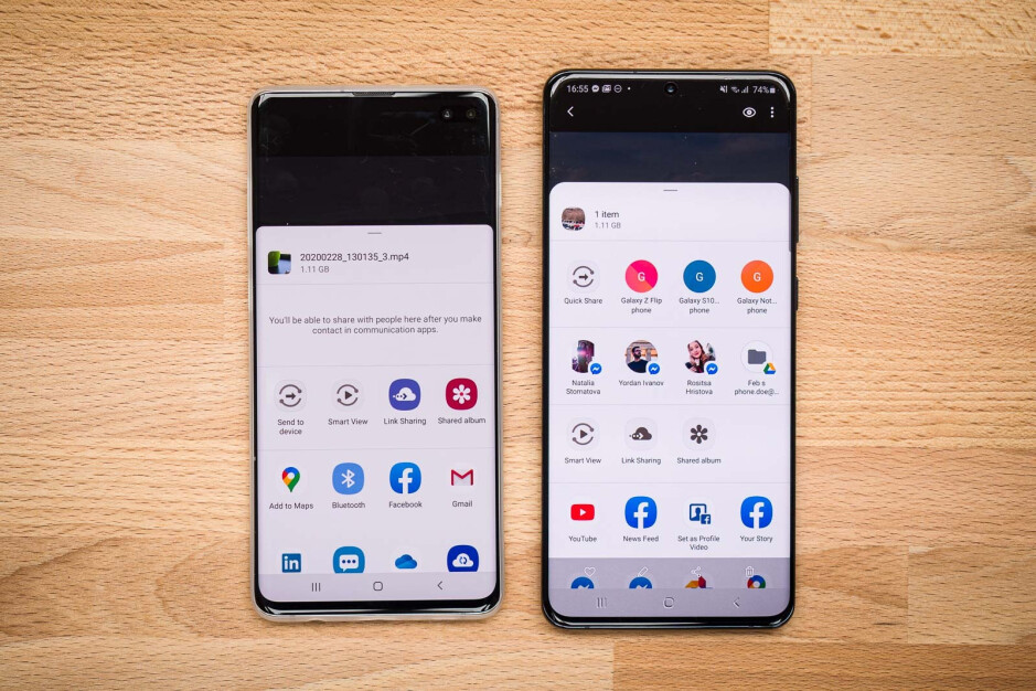 SamsungDirect Share (S10) and Quick Share (S20) fast file transfer menu - How to use the Galaxy S20 and Note 20 Quick Share fast file transfer speeds