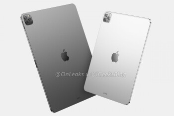 2020 Apple iPad Pro CAD-based render - Big 2020 iPad Pro camera upgrade teased by reliable Apple tipster