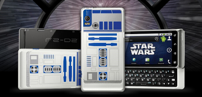 The Motorola DROID 2 R2-D2 limited edition is now $199.99 after a rebate and signed 2 year contract - Verizon drops price of Motorola DROID 2 R2-D2 limited edition phone to $199.99