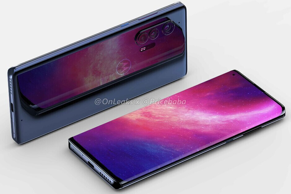 Render of the flagship Motorola Edge+ 5G - Motorola's new flagship could have something in common with the Samsung Galaxy S20 Ultra 5G