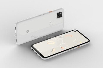 Render of the Google Pixel 4a - Read why apps will open and install faster on the Google Pixel 4a