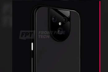 Render of the Pixel 5 XL's back panel - Google's Pixel 5 and Pixel 5 XL might not be flagship phones