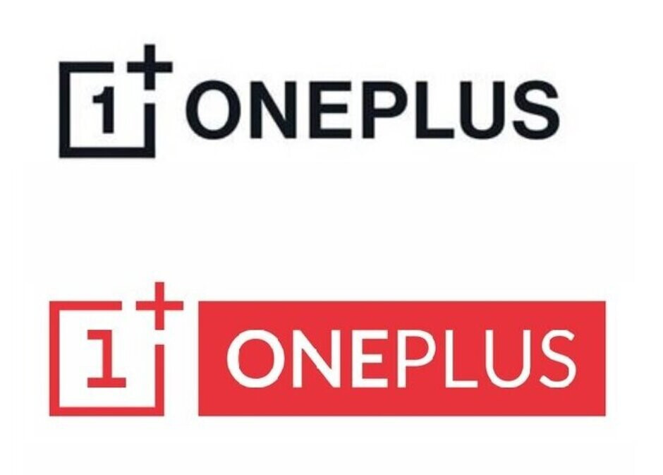 The new OnePlus logo on top with the old one on the bottom - Leak reveals new OnePlus logo that could debut on its new 5G enabled lineup (UPDATE: It's official)