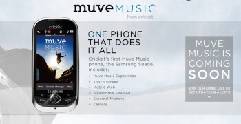 Cricket to launch $55 Muve Music plan with unlimited service and music