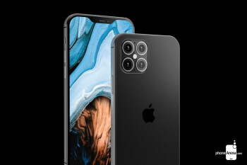 Render of the Apple iPhone 12 Pro Max - Analysts cut 2020 iPhone forecasts including sales of the new 5G models
