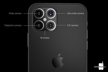 Apple iPhone 12 Pro concept render - iPhone 12 Pro Max to feature key camera upgrades, but no periscope lens