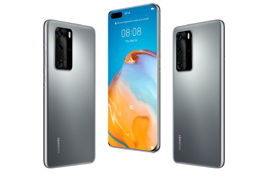 Renders of the Huawei P40 Pro - Look out below! Huawei's global phone shipments are in freefall