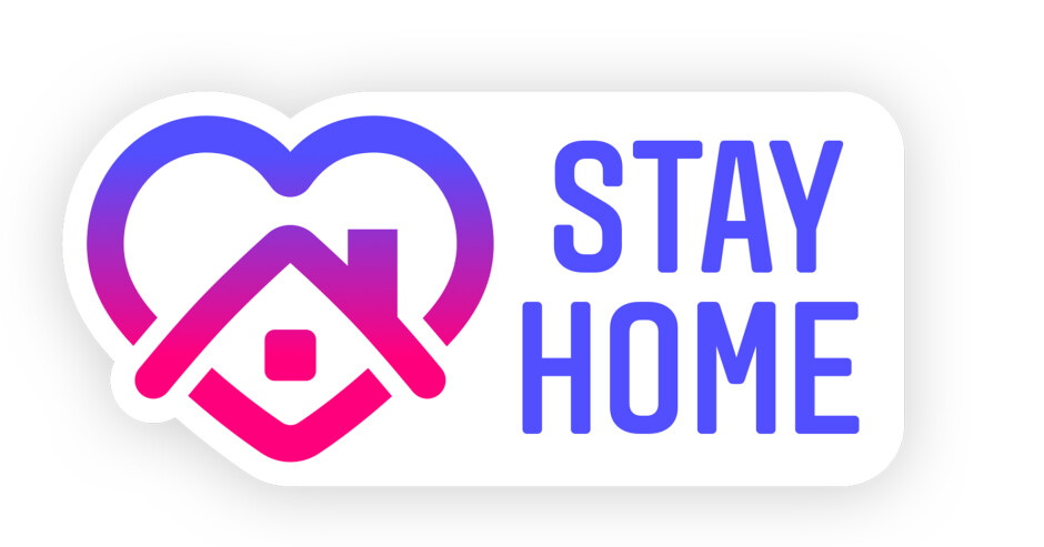 Stay Home sticker - Instagram coronavirus response: feature to browse photos together via video chat and 'Stay Home' sticker