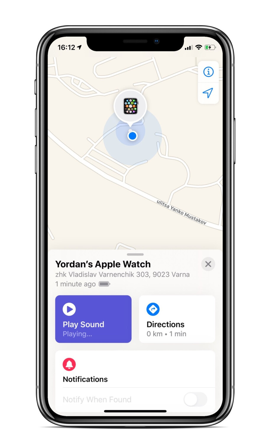How to find my Apple Watch