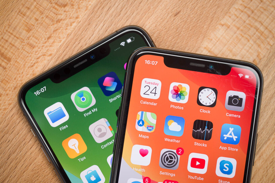 The iPhone 11 Pro notch - iPhone 12 Pro to feature 3D camera but not iPhone 12, iOS 14 code suggests