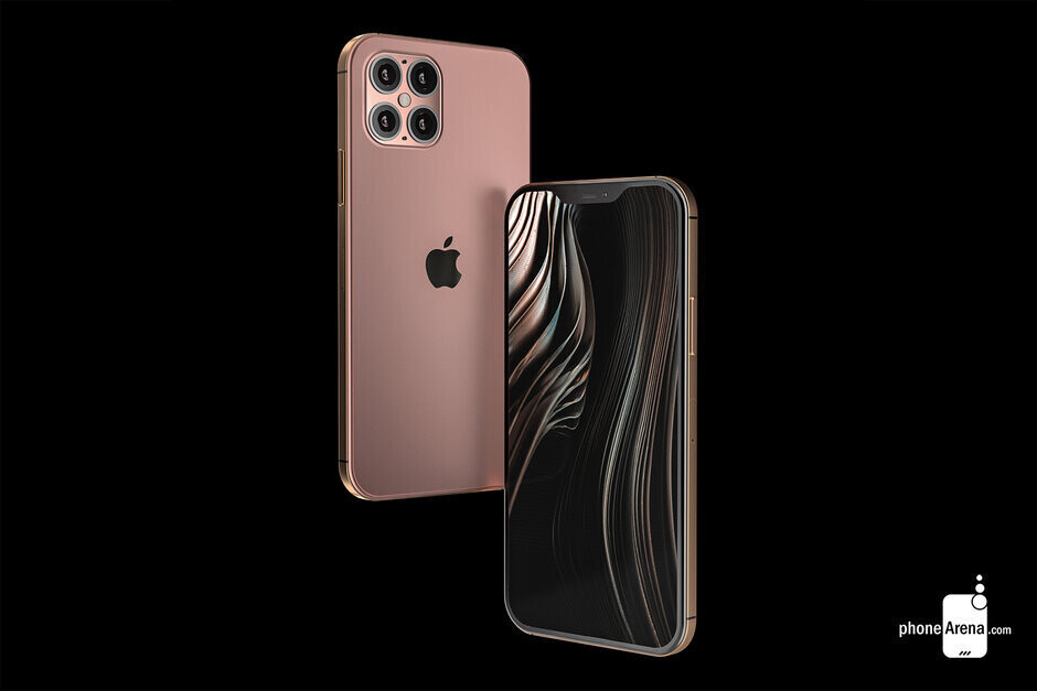 Render of the Apple iPhone 12 Pro Max and its Quad-camera setup - Apple suppliers are now worried about a drop in demand for the 5G iPhone models