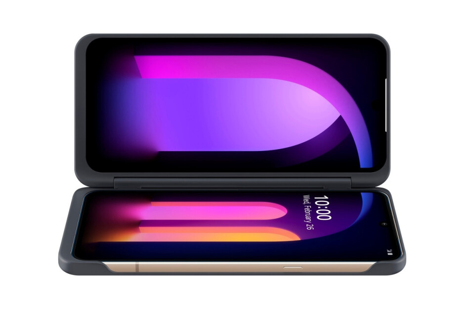 LG V60 ThinQ with Dual Screen case - The LG G9 ThinQ is probably not happening after all