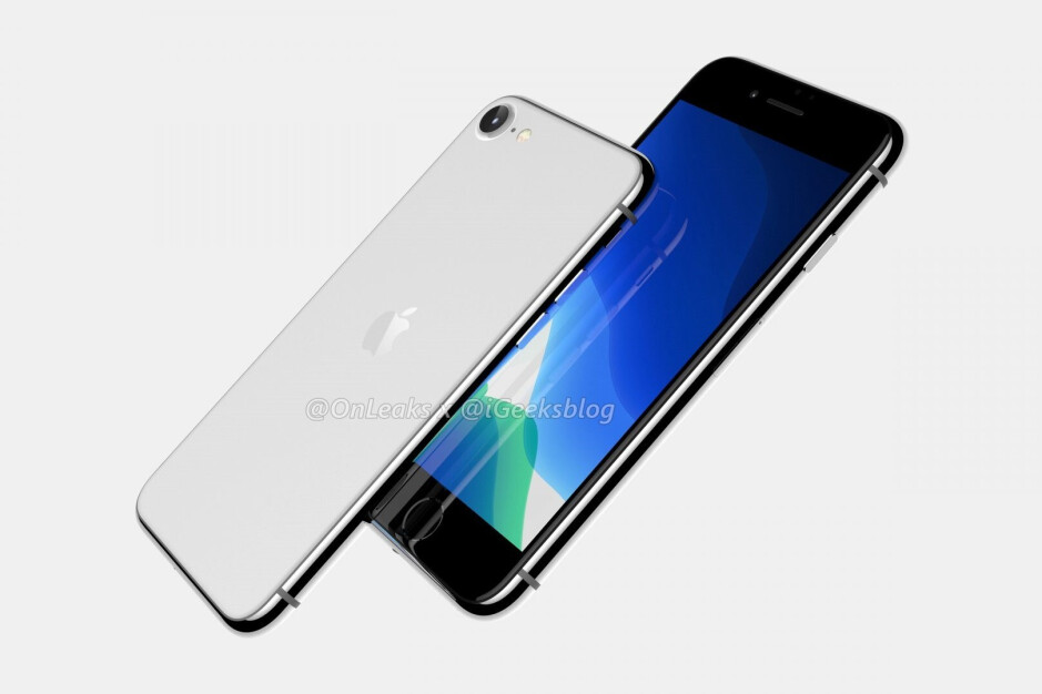 Apple iPhone 9 CAD-based render - Apple's 5G iPhone 12 won't be pushed back to 2021, but future products could be delayed