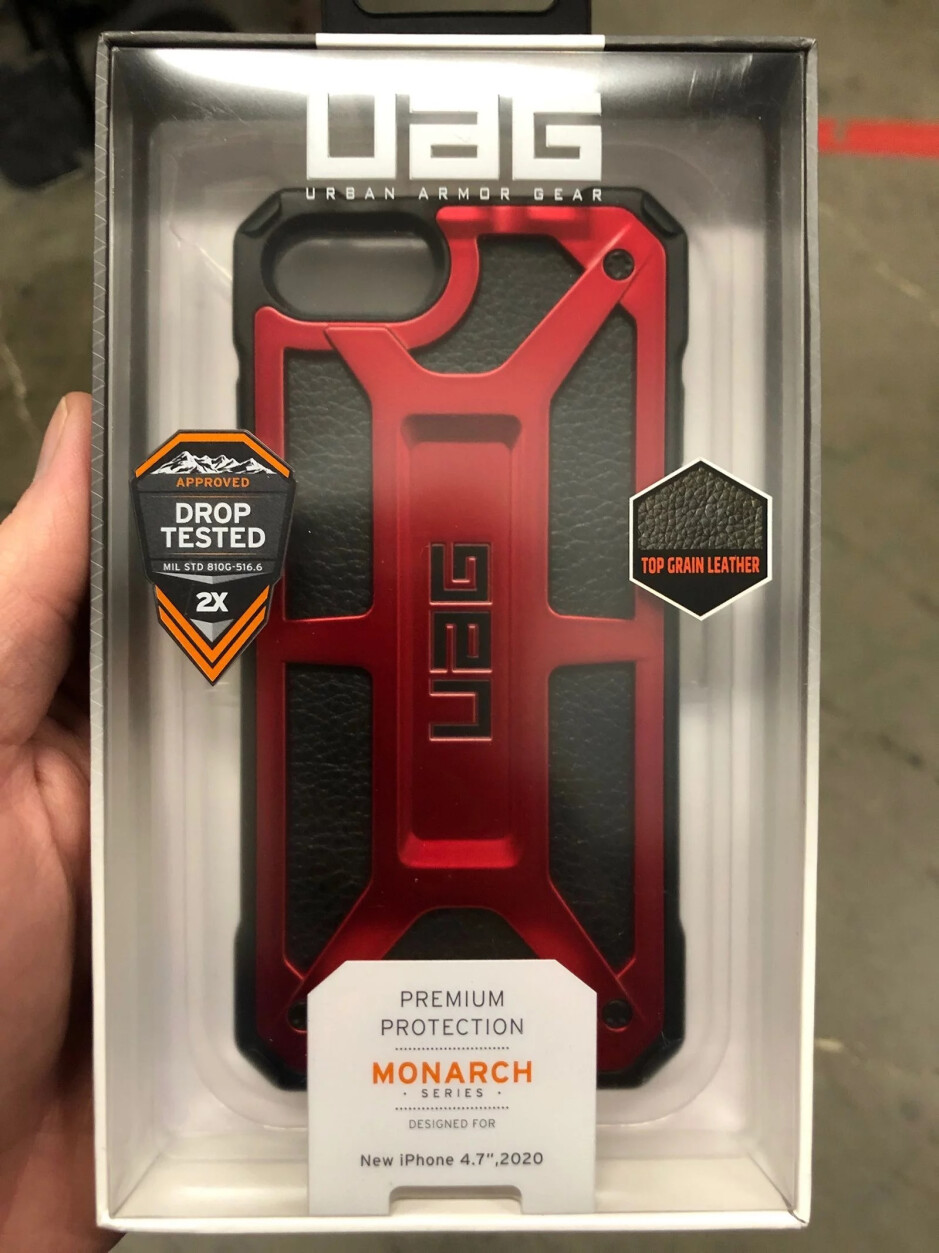 Photo of a case for the 4.7-inch 2020 iPhone that was shared by an anonymous Best Buy employee - Here is why we could see the Apple iPhone 9 unveiled tomorrow