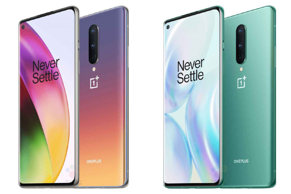 The OnePlus 8 - Several official OnePlus 8 5G & 8 Pro 5G cases have leaked