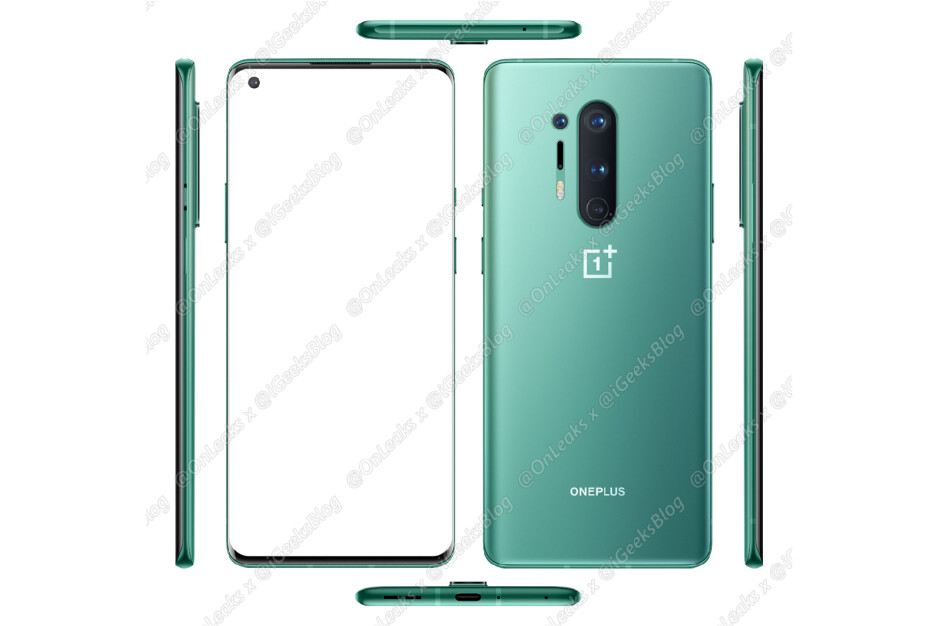The OnePlus 8 Pro - Several official OnePlus 8 5G & 8 Pro 5G cases have leaked