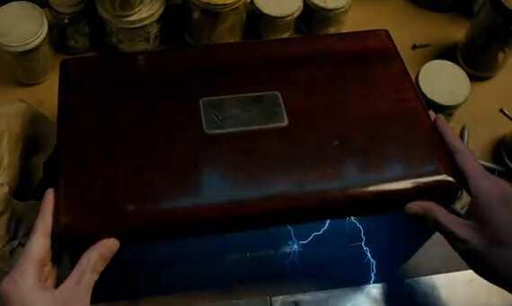 In the carrier's first 4G ad, a box from Verizon was shooting out thunderbolts - HTC Incredible HD could be HTC Mecha which could launch as the HTC Droid Thunderbolt