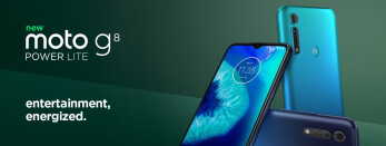 The Moto G8 Power Lite was officially announced today - Motorola makes the Moto G8 Power Lite and its 5000mAh battery official