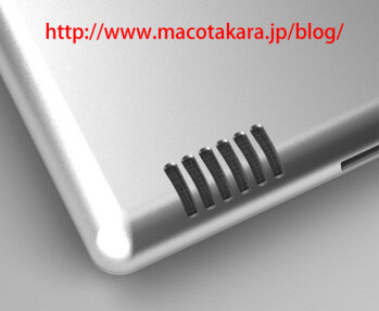 iPad 2 might come with a wide-range speaker