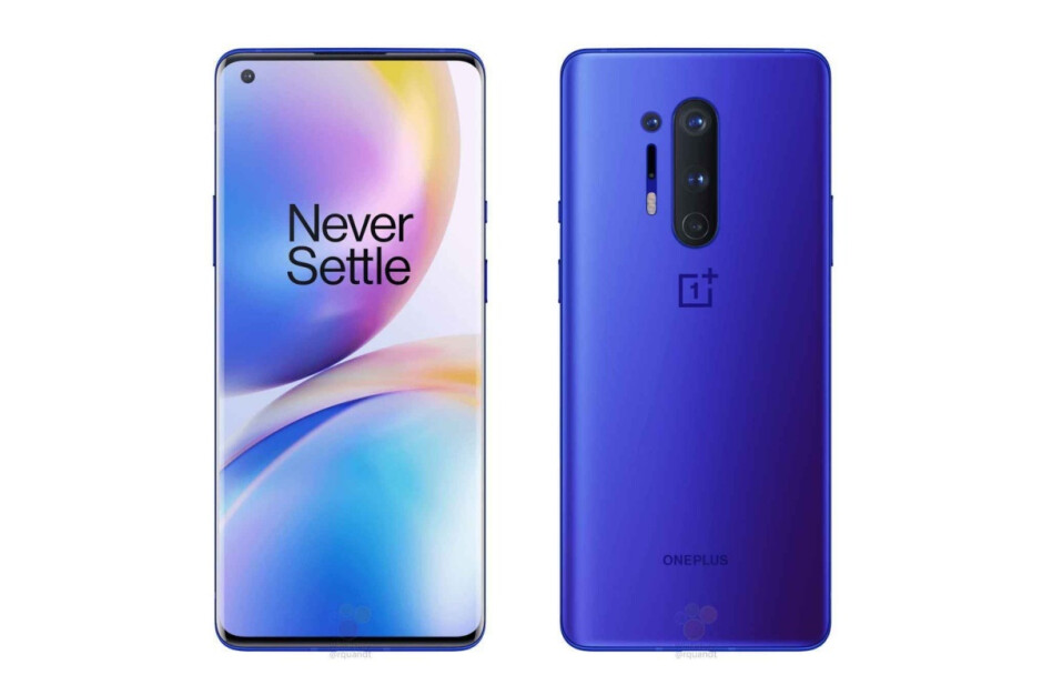 Leaked OnePlus 8 Pro renders - The OnePlus 8 and 8 Pro will be available early for hardcore fans in online pop-ups